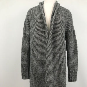 Ann Taylor Loft Knitted Open Front Cardigan